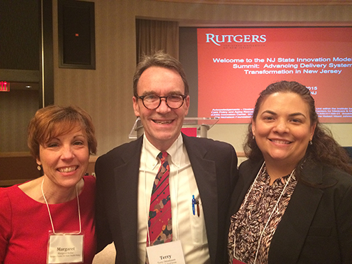 From left to right: Margaret Koller, Terry Shlimbaum, and Michelle Pichardo.